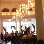 Breakfast in the main dining room