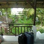 Autre vue de notre balcon
