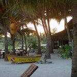 Mawimbi's beach front & restaurant