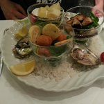 Starter: Oyster & octopus