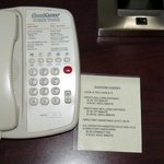 Shockingly high prices to use the room phone