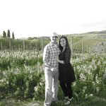Us in the vineyards