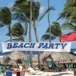 Beach party un jour de grand vent !