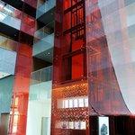 Lobby and elevators
