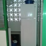 frigorifico en despensa y aparato aire acondicionado /calor