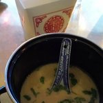 Soup and main cource