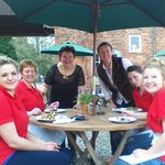 Charming team behind the potting Shed Cafe