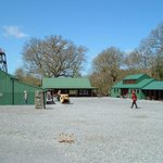 Further views, entrance building, shop and cafe.