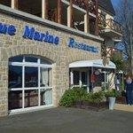 outside the Aigue Marine!