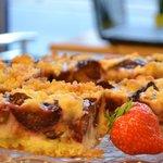 Homemade Plum Cake.