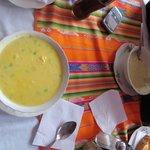 excelentes sopas cremas