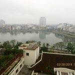 View of Hanoi from our room