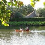 Las actividades en el río
