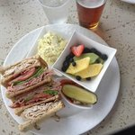 Club sandwich with healthier options