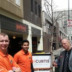 Friendly Valet Staff and Concierge