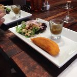 Ceviche & Empanada at Bolivar