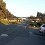 The small town of Gualala on the Mendocino coast.