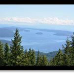 View from Mt. Constitution - San Juan Islands