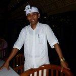 Suar, our waiter. A lovely man..