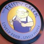 Feisty Greek Sign