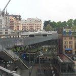 Flon area central Lausanne