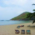 Lovely, deserted beach