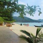 Quiet, lovely beach