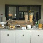 das fünf sterne frühstück !!!