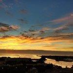 sol nascendo - Rio da prata