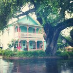 This is the Cedar Key Bed and Breakfast