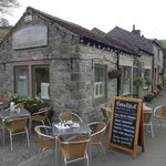 Frontage and outdoor seating