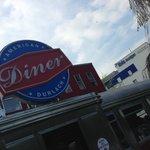 Karlruhe American Diner von außen