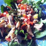 Insalatina di fegato di baccalà - Cod liver salad