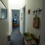 Guests hall way leading to bedrooms and private lounge