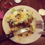 Fry bread taco-- SO GOOD!