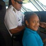 Captain Tomas of the yasawa flyer n daughter shona