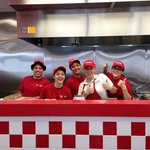 A wonderful crew who created a lasting impression and awesome burgers.  wish we could have broug