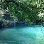 My mini ipad photo of the water at Kusunlu