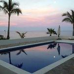 Pool overlooking the break
