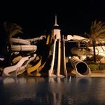 Water slides by night!