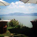 De las mejores vistas del lago