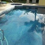 Villa pool and spa