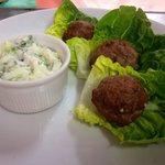 Tandoori Meatballs & Raita