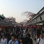Asakusa Shrine shopping closeby