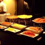 Abendbuffet, Desserts/Früchte