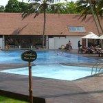 kleiner Pool und Spa