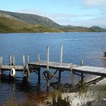 Short walk from chalet, Lake Pedder