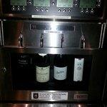 Card operated wine vending machine !!!  So great !