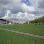 Museumplein - View against Rijksmuseum