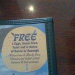 great deal for breakfast